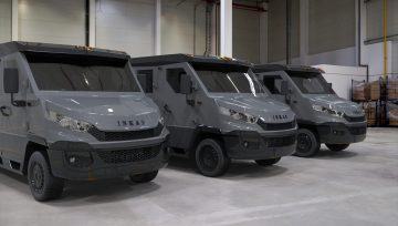 INKAS® Launches a New Eco-Friendly Cash-In-Transit Iveco Daily 6